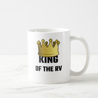 Rey Of The RV Taza Básica Blanca