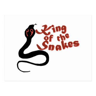 Rey Of The Snakes Tarjetas Postales