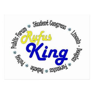 Rey oval redondo Debate/congreso/discurso de Rufus Postal