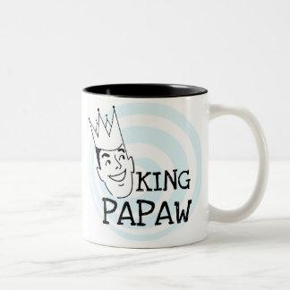 Rey Papaw T-shirts y regalos Taza De Café De Dos Colores