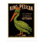 Rey Pelican Brand Lettuce Postal