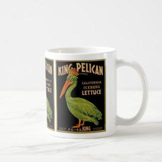 Rey Pelican Brand Lettuce Taza