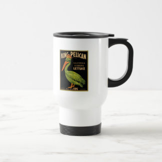 Rey Pelican Lettuce Taza De Viaje De Acero Inoxidable