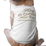 Rey personalizado Dog T-shirt Ropa De Perro
