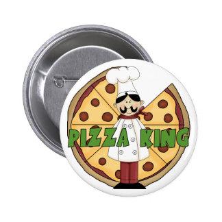 Rey Pizza Button de la pizza Pins