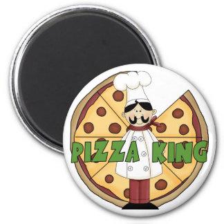 Rey Pizza Magnet de la pizza Iman Para Frigorífico
