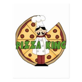 Rey Pizza Postcards de la pizza Tarjetas Postales
