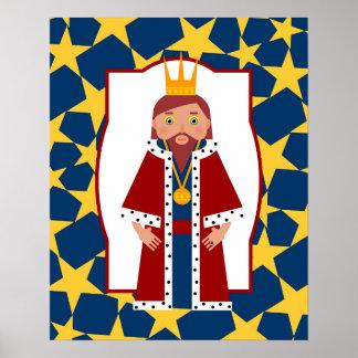 Rey poderoso póster
