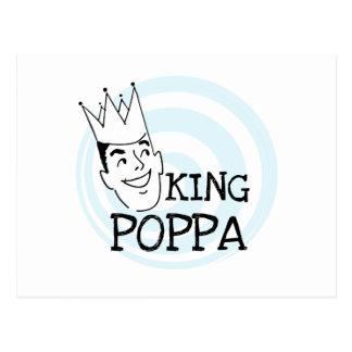 Rey Poppa T-shirts y regalos Postal