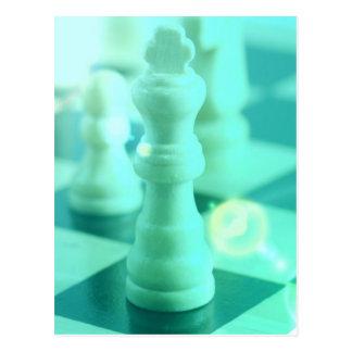 Rey Postcard del ajedrez Tarjetas Postales