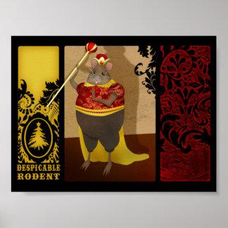 Rey Poster del ratón