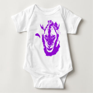 Rey púrpura del león body para bebé