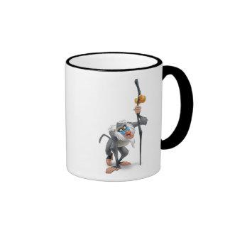 Rey Rafiki del león que coloca Disney Tazas De Café