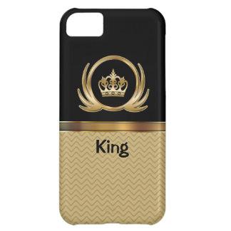 rey real del caso del iPhone 5 Funda Para iPhone 5C