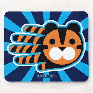 Rey real del tigre de la selva alfombrilla de ratón