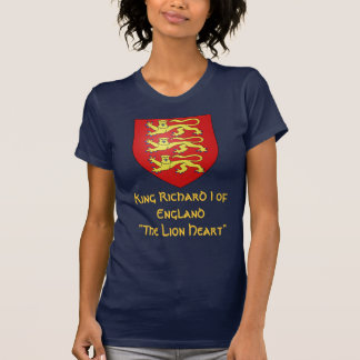 """Rey Richard I de Inglaterra """"el Lionheart """" Playera"""