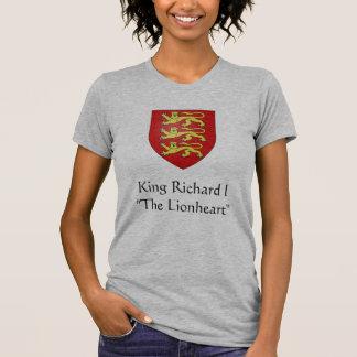"""Rey Richard I """" el Lionheart """" Playera"""