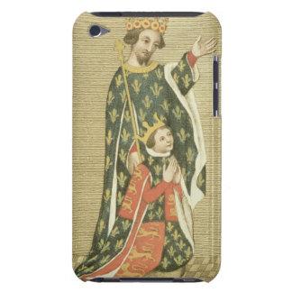 Rey Richard II (1367-1400) con su padre Edward Case-Mate iPod Touch Funda