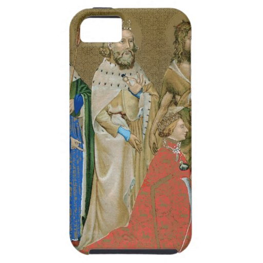 Rey Richard II - díptica de Wilton iPhone 5 Fundas