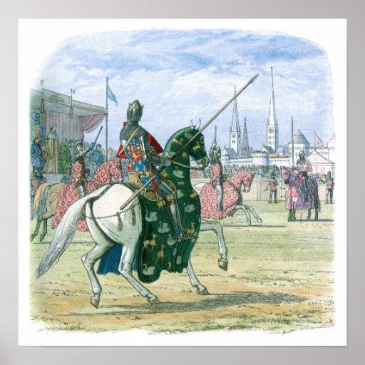 Rey Richard II para el duelo Impresiones