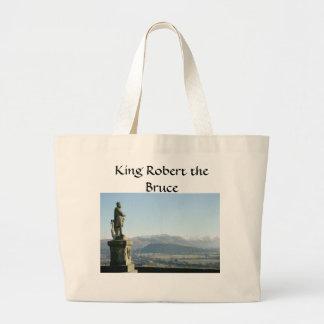 Rey Roberto de Escocia Stirling el Bruce Bolsas Lienzo