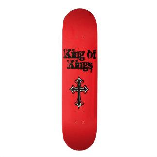Rey rojo de reyes Skateboard Deck Patineta Personalizada