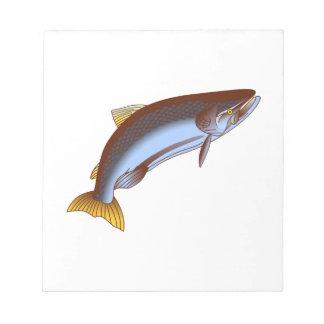 Rey salmón bloc