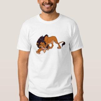 Rey Scar del león de Disney Playera