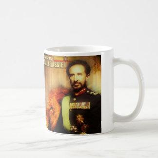 Rey Selassie I Mug Taza