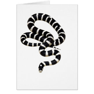 Rey serpiente de Junglewalk.com Felicitacion