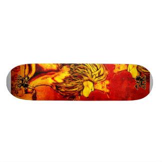 Rey Skateboard Skidone del león Patines