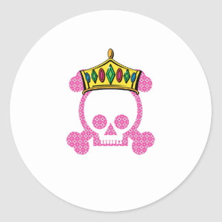 Rey Skull de la reina Etiqueta