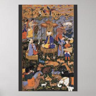Rey Solomon By Persischer Meister Posters