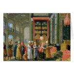 Rey Solomon y la reina de Sheba Tarjeta De Felicitación