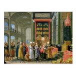 Rey Solomon y la reina de Sheba Tarjeta Postal