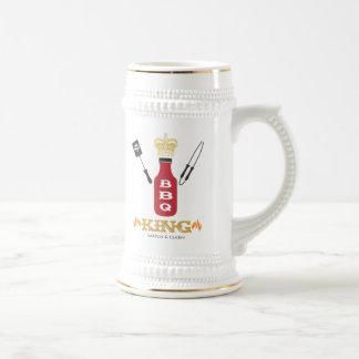 Rey Stein del Bbq Jarra De Cerveza