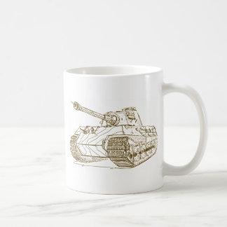 Rey Tiger II Konigstiger Taza