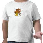 Rey Timon Simba Pumba del león con la mariquita Camisetas