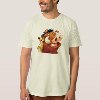 Rey Timon y Pumba Disney sonriente del león Poleras
