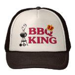 Rey Trucker Hat del Bbq Gorras