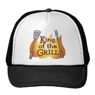 Rey Trucker Hat del Bbq Gorro De Camionero