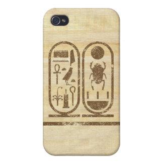Rey Tut Cartouche iPhone 4 Carcasa