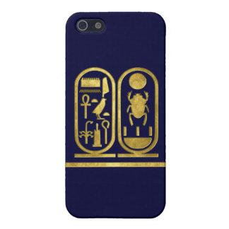 Rey Tut Cartouche iPhone 5 Carcasas