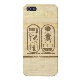 Rey Tut Cartouche iPhone 5 Coberturas