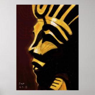 Rey Tut - rey del muchacho Poster