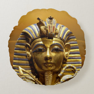Rey Tut Round Pillow de Egipto