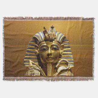 Rey Tut Throw Blanket de Egipto Manta