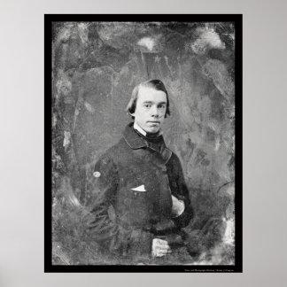 Rey unitario Daguerreotype 1854 de Thomas del past Póster