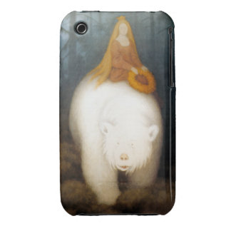 Rey Valemon del oso blanco iPhone 3 Case-Mate Cobertura