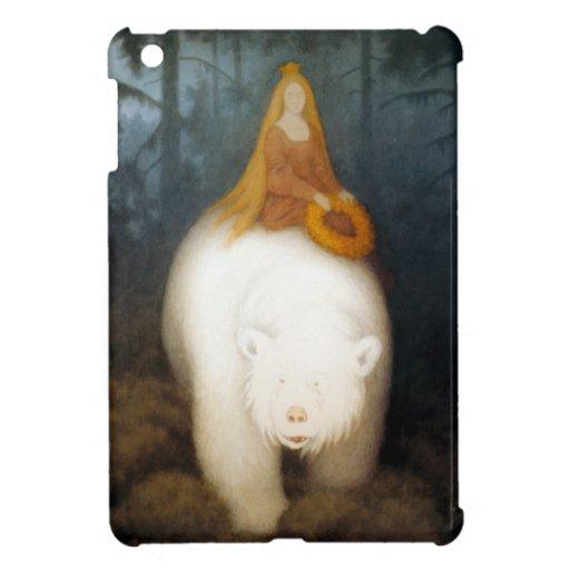 Rey Valemon del oso blanco iPad Mini Protector
